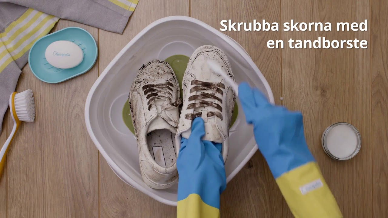 Få bort dålig lukt i skor & tvätta sneakers Cleanipedia