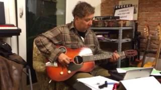 Old Musikalia/Catania guitar wired by Andbadguitars- Feat Max Prandi