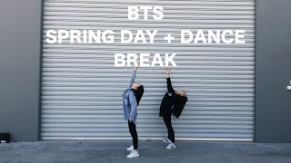 [155CM] BTS (방탄소년단) - SPRING DAY (봄날) + DANCE BREAK (2017 KBS Song Festival 가요대축제)