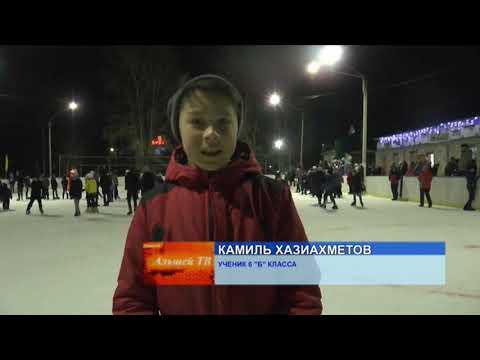 Ледовое шоу в с. Раевский