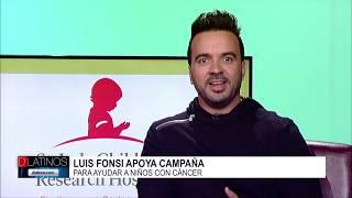 Hablamos en exclusiva con Luis Fonsi sobre el Hospital St. Jude