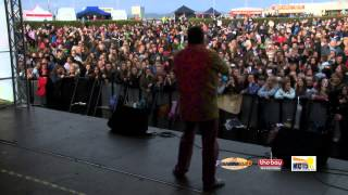 MC15: Black Lace Play at Morecambe Carnival on The Bay's Live Stage (03/05/15)
