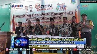 Bawaslu Kebumen Luncurkan Desa Anti Politik Uang