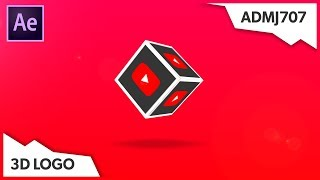 3D Cube Logo Reveal Template - After Effects Template | No Plugins Required