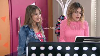 "Violetta 3 Violetta and Lena singing ""Descubri"" Ep.58 English Subtitles"