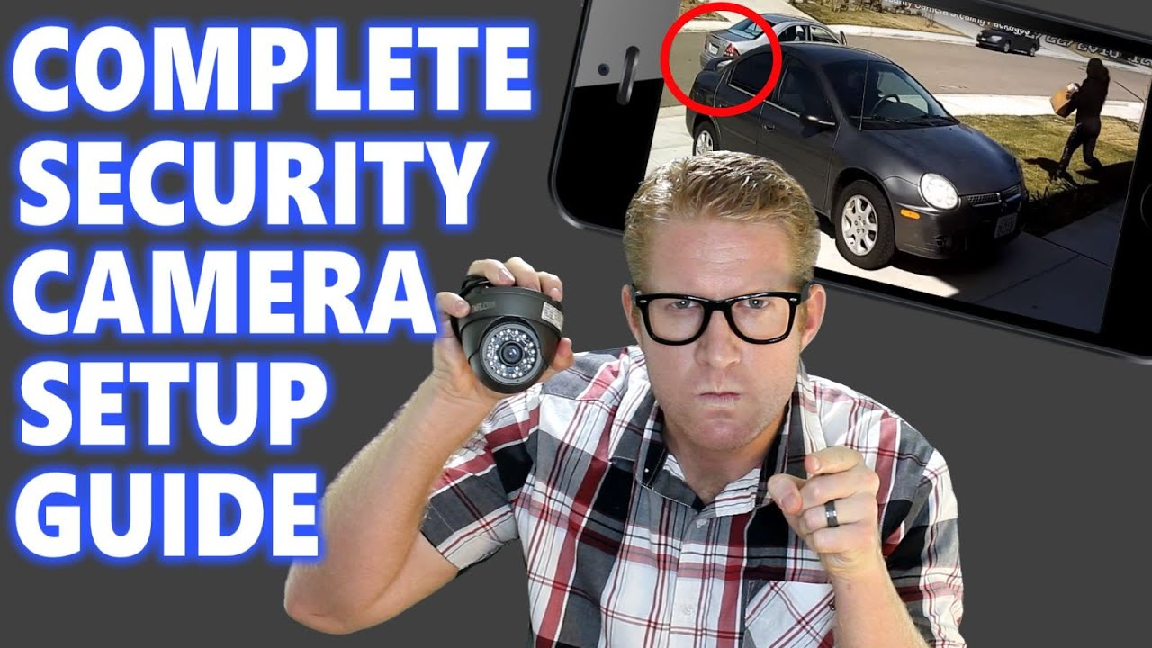 Security Camera Installation Near Me Weatherford TX 76088