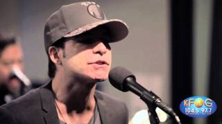 Train - Angel In Blue Jeans (Live on KFOG Radio)