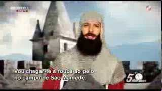 """História à desgarrada """"Mãezinha"""" D. Afonso Henriques - José Pedro Vasconcelos - 5 Para a Meia Noite"""