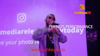 WATCH #PHYNO'S PERFORMANCE AT MOVIE PREMIERE, #BLOODLINESTHEMOVIE