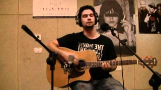 Deftones- Be quiet and drive Acoustic Live cover
