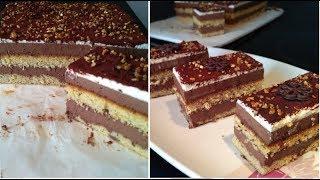 Gâteau à la noisette et chocolat/ Recette facile