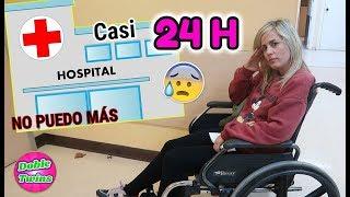 24 HORAS EN UN HOSPITAL! Voy a Urgencias NO PUEDO MÁS