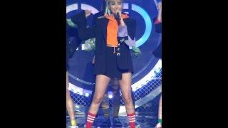 [예능연구소 직캠] 이엑스아이디 낮보다는 밤 LE Focused @쇼!음악중심_20170415 Night Rather Than Day EXID LE