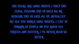 FUN- Some nights intro (lyrics)