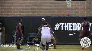 2016 Drew League - Andre Drummond Posterized Twice in Same Quarter