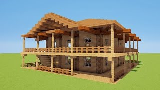 Minecraft Maison De Luxe Moderne. House Plans And Cost To Build ...