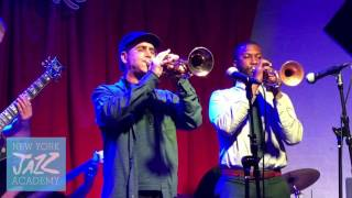 NYJA Small Ensemble w/ Peck Allmond on trumpet (New York Jazz Academy)