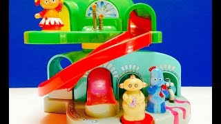 Iggle Piggle, Makka Pakka and Upsy Daisy Visit Teletubbies Tubbytronic Superdome House Toy