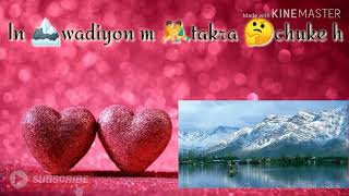 Kaafirana love status by kedarnath ||chandan shakya status king||