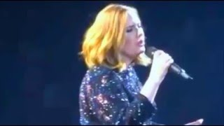 Adele Live 2016 ''ALL I ASK'' microphone fail