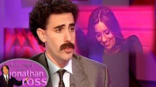 Sacha 'Borat' Baron Cohen Asks Melanie