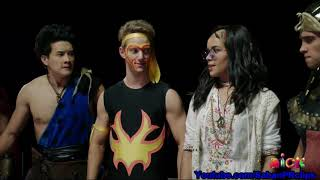 Power Rangers Super Ninja Steel Halloween Special - Monster Mix up - Hold everything