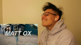 MATT OX - Overwhelming (Prod. OogieMane) - REACTION !!! LIT