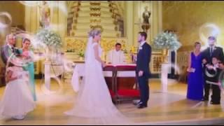 Noivo e Padrinhos  cantam *Aleluia * emocionante