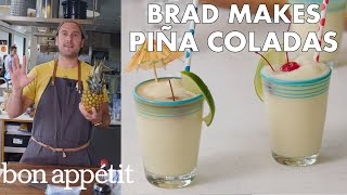 Brad Makes BA's Best Piña Coladas | From the Test Kitchen | Bon Appétit width=