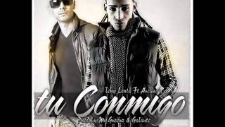 (Dj Jorge)Arcangel Ft. Tony Lenta - Tu Conmigo Remix.wmv