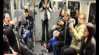 Polish mix songs in train RE1 to Erkner, Taize Berlin, 28.12.11-1.01.12