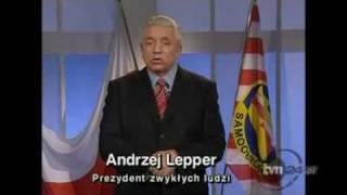 Spot Wyborczy Andrzeja Leppera (Wybory prezydenckie 2010)