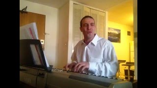 Eric Carmen - Hungry Eyes - on a piano