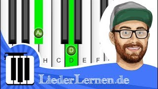 Mark Forster - Immer Immer Gleich - Klavier lernen - Musiknoten - Akkorde