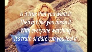 Shakira - Dare (La, La, La) Brazil FIFA World Cup Song LYRICS