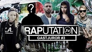 GASTJUROR #3 - Wer ist es? - Visa Vie, Weekend, Sookee & MoTrip  (RAPutation.tv) width=