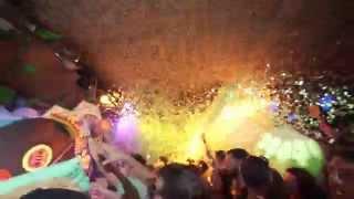 Space Closing Fiesta 2015 - Highlights - elrow confeti