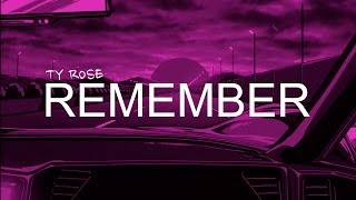 """(FREE) J Cole x Bas Type Beat 2017 - """"Remember"""" (Prod. By Ty Rose) [J. Cole Type Beat]"""