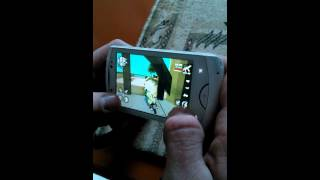 Grand Theft Auto: San Andreas on Sony Ericsson LIVE WITH WALKMAN