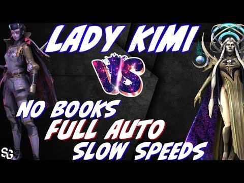 Kimi vs DT 120 hard. Full auto, slow speed, no books | RAID SHADOW LEGENDS