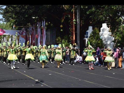 Karnaval MAN 1 BANYUWANGI Drum Band MANSAWANGI