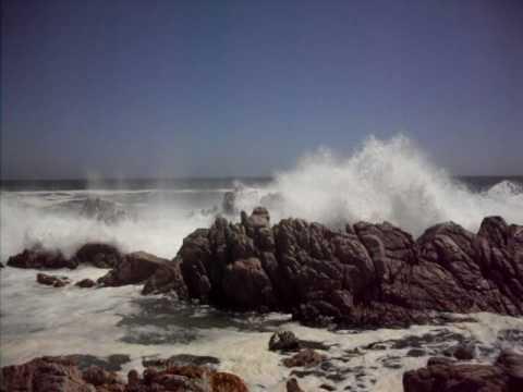 Waves at Roi ells Beach South Africa