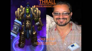 Heroes of the Storm Voice Actors pt. 1