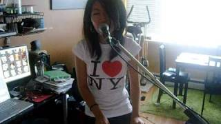 """Gary Go - """"Brooklyn"""" Live Cover by Wanting(曲婉婷) with lyrics!"""
