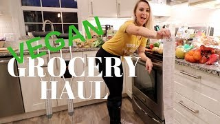 VEGAN FOOD HAUL - slc cast at homen