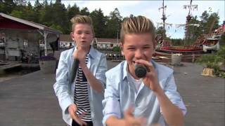 """Marcus & Martinus """"Hei"""" Dyreparken 2015"""