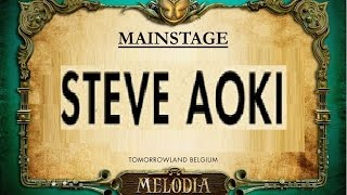 Steve Aoki -  Interstellar (Tomorrowland, 24-07-2015)