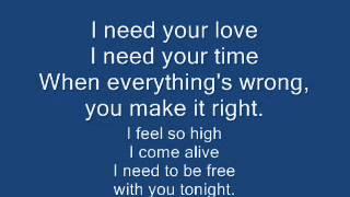 I Need Your Love-Pentatonix(Calvin Harris feat. Ellie Goulding Cover) [LYRICS]