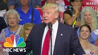 Donald Trump: We're Still Going To Build A Wall | NBC News