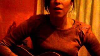 "me singing ""Caçador de Sois"""